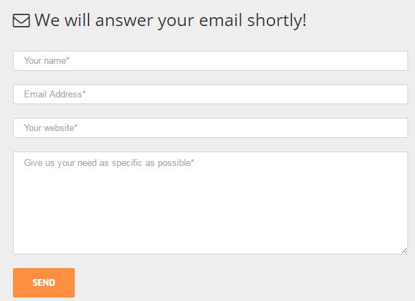 contact form 7 表单示范