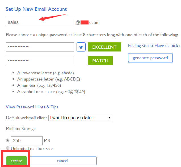 contact form 7 Bluehost add email 1