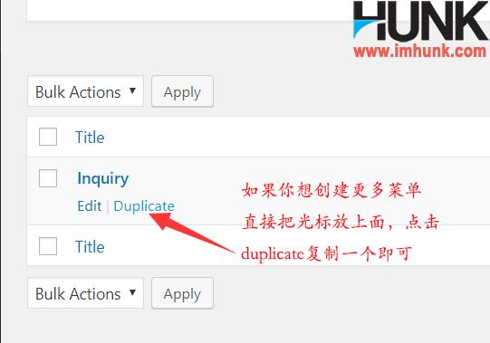 contact form 7 复制新菜单 1