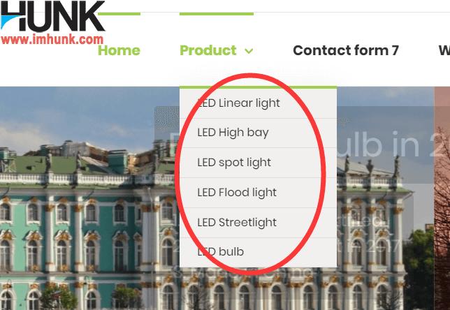Avada主题用mega menu实现图片导航效果  1