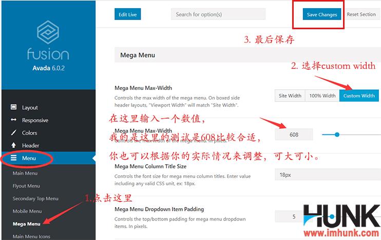 Avada主题用mega menu实现图片导航效果 14