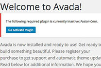 AVADA主题升级更新的方法