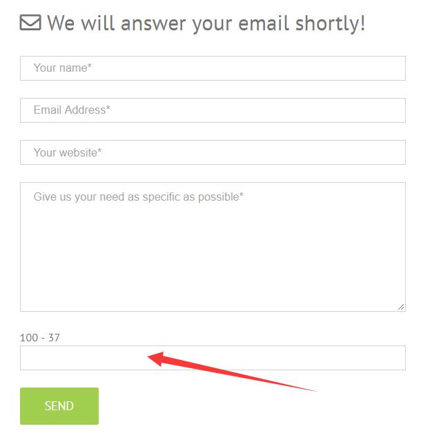 contact form 7 quiz放垃圾 5