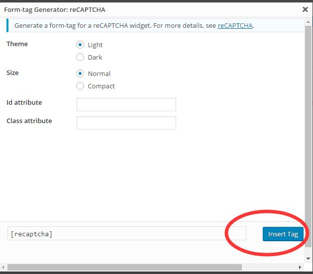Contact form 7增加防垃圾询盘功能 8