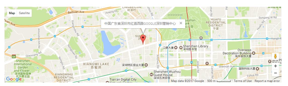谷歌地图不显示问题 6