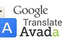 如何在avada主题上面加入google翻译功能