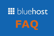 bluehost faq