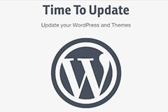 wordpress升级更新
