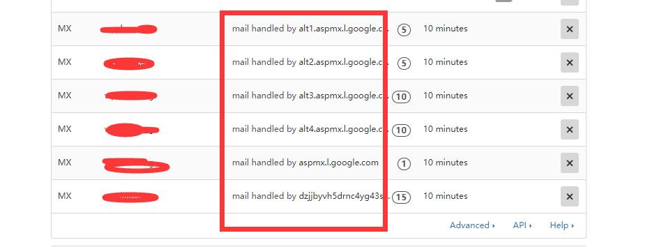 cloudflare域名邮箱解析结果