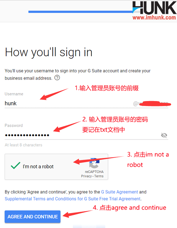 Google企业邮箱注册 8