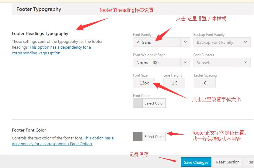 AVADA网站字体设置的方法 4