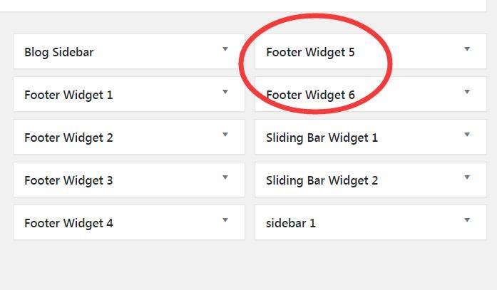 怎么设置AVADA网站的sidebar和footer 13