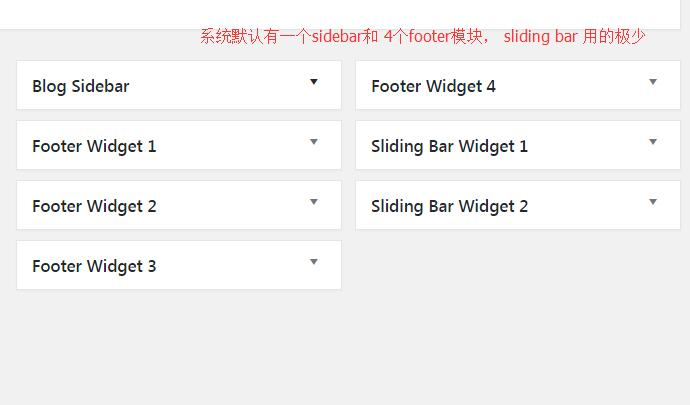 怎么设置AVADA网站的sidebar和footer 2
