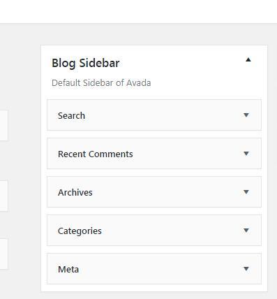 怎么设置AVADA网站的sidebar和footer 3