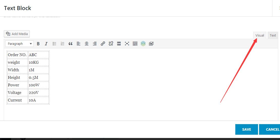 4种实现wordpress表格的方法 2
