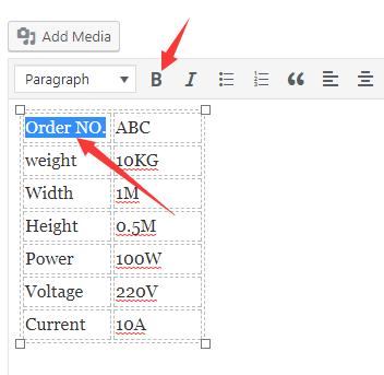 4种实现WordPress表格的方法 5