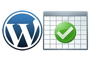 4中实现wordpress表格的方法