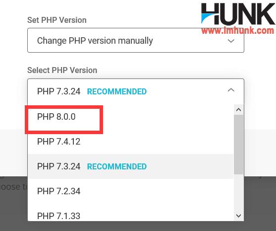 2020年siteground支持的php版本