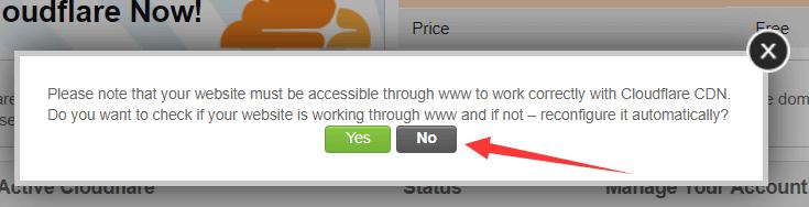 siteground空间使用 cloudflare 2
