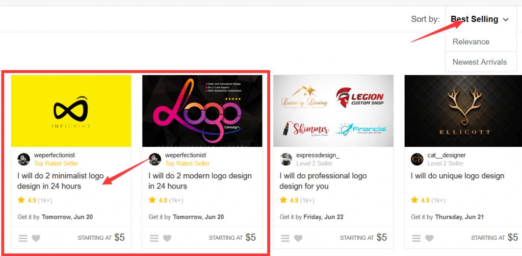 如何在fiverr上外包Logo和手绘视频 7