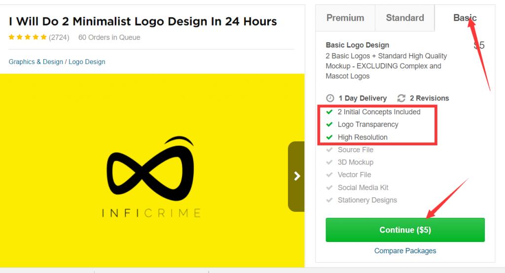 如何在fiverr上外包Logo和手绘视频 8