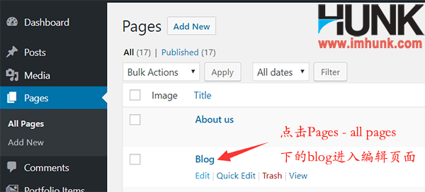 Enfold主题建立网站博客或新闻页面 1