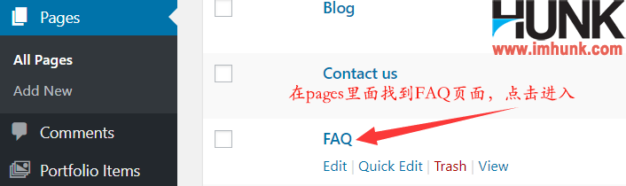 Enfold主题制作网站的FAQ页面 1